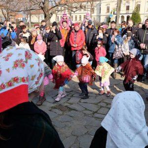 K Velikonocům v Těšanech patří i dětský folklorní soubor Lušňáček. Foto: archiv TMB