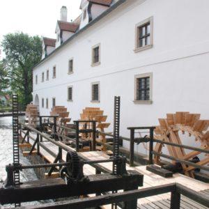 Vodní mlýn ve Slupi. Foto: E. Řezáčová, TMB