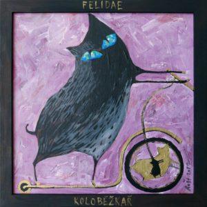 Koloběžkař z kolekce Felidae. Repro: Petr Ivančic